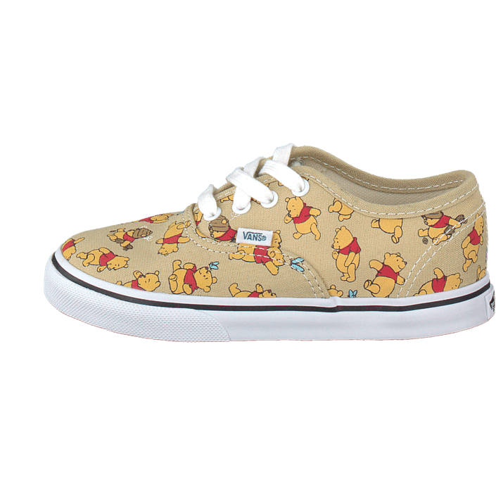 Pooh Shoes | Disney shoes, Vintage vans, Cute shoes