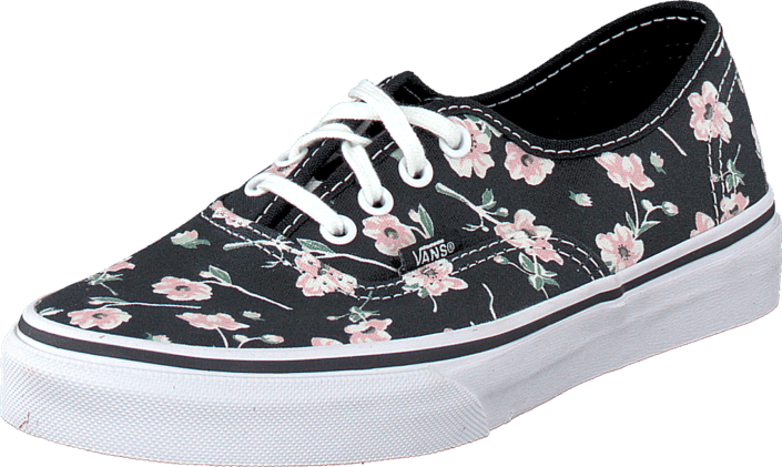 68a89d56a542c6 Buy Vans Authentic (Vintage Floral) Blue Graphite blue Shoes Online ...