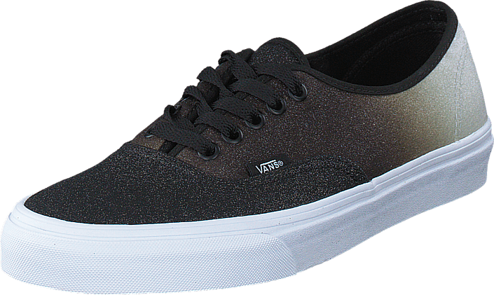 3457261b7a3 Buy Vans Authentic (2 Tone Glitter) silver black blue Shoes Online ...