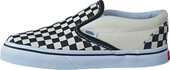 T Classic Slip-On Black And White Checker/White