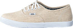 Authentic Lo Pro Natural/True White