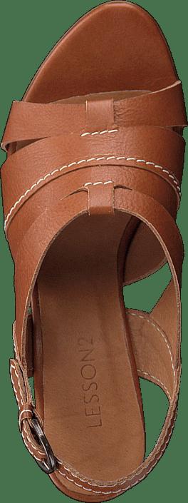 Kup Lesson 2 Oakland - Leather Cognac Buty Online