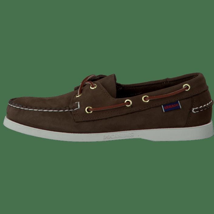 Køb Moma Leather Boots RedBrown Leather Brun Sko Online