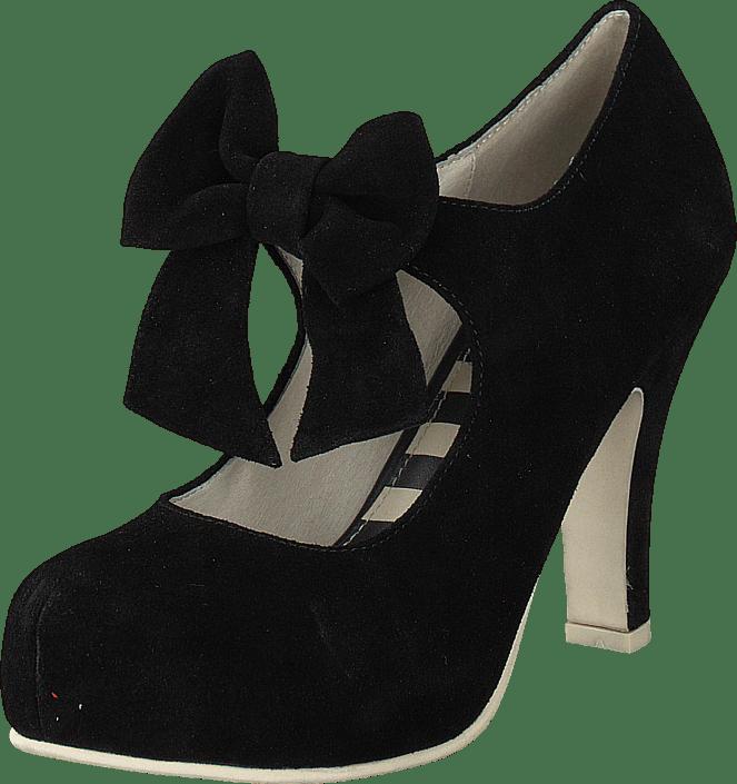 233fc8a9d3d9 Køb Lola Ramona Angie Black Suede sorte Sko Online