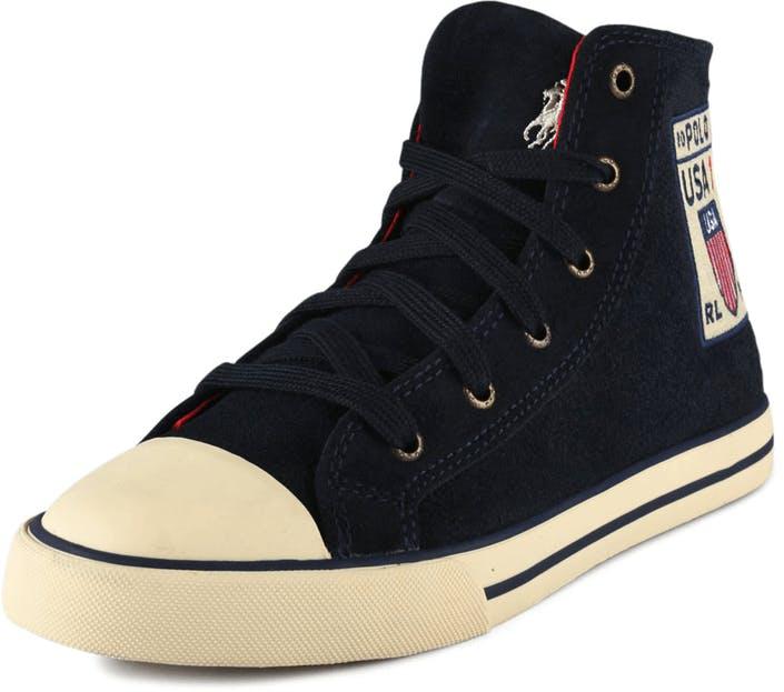 e5a31fac10e Acheter Ralph Lauren Junior Truro City Hi bleus Chaussures Online ...