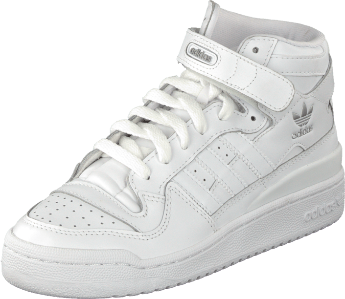best cheap 9eb5e e5832 Buy adidas Originals Forum Mid White / White / White white Shoes ...