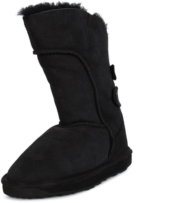 c3ee25eab66 Buy EMU Australia Alba black Shoes Online | FOOTWAY.co.uk