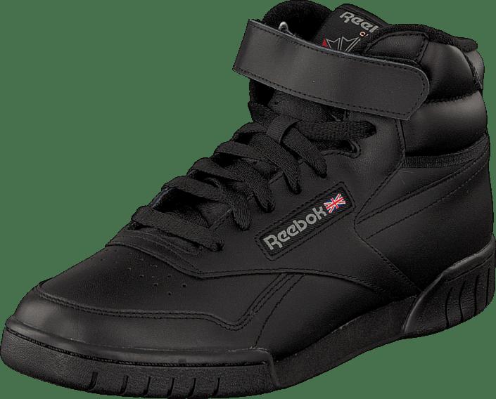Buy Reebok Classic Ex-O-Fit Hi Int-Black black Shoes Online ... a28ef49b3