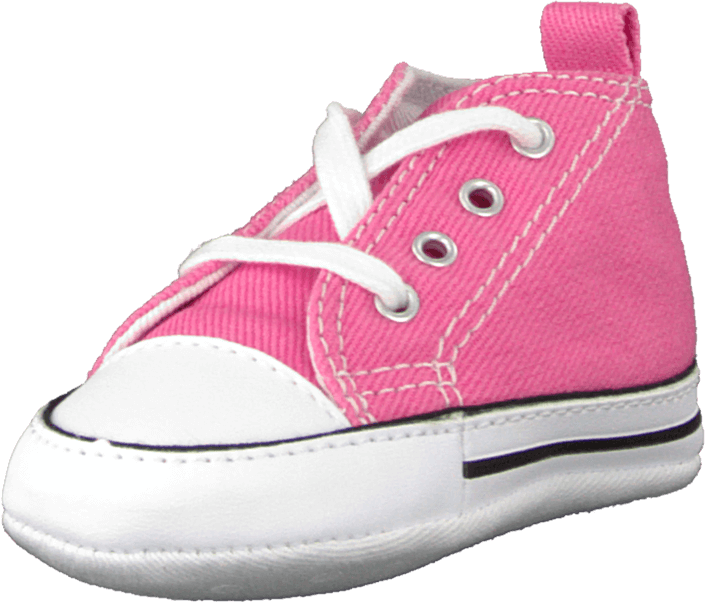 f7fef3b35839 Buy Converse First Star Crib Canvas Hi pink Shoes Online