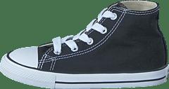 82d679eeccadcc Converse - Small Star Hi Canvas Black
