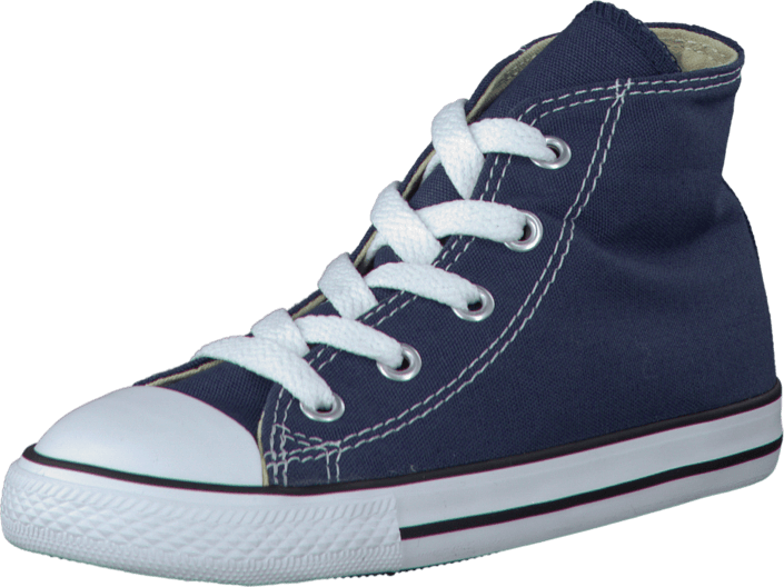 Converse - Small Star Hi Canvas Navy