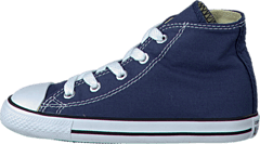 Small Star Hi Canvas Navy