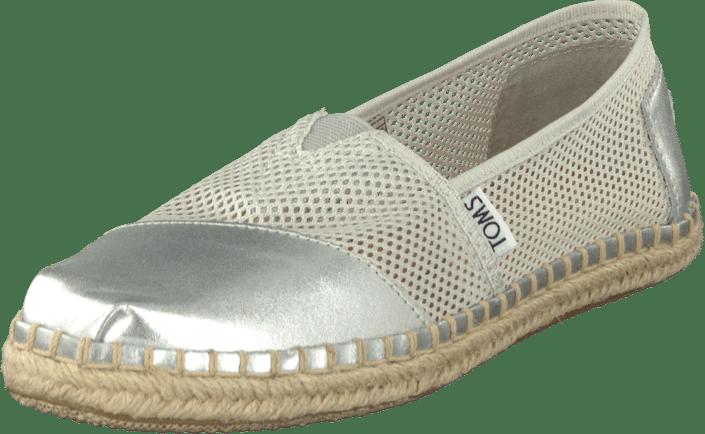Toms - Seasonal Classic Silver Mesh