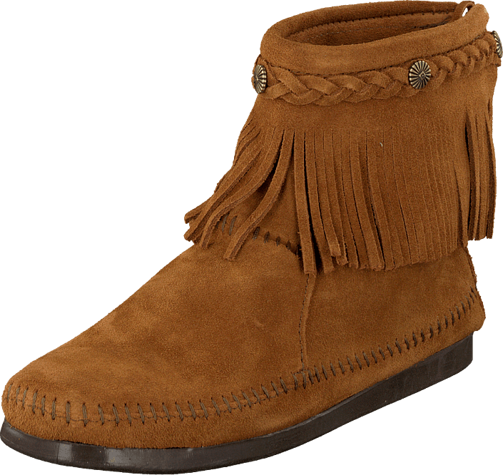 e70d483b65d Köp Minnetonka Hi Top Back Zip Boot bruna Skor Online | FOOTWAY.se