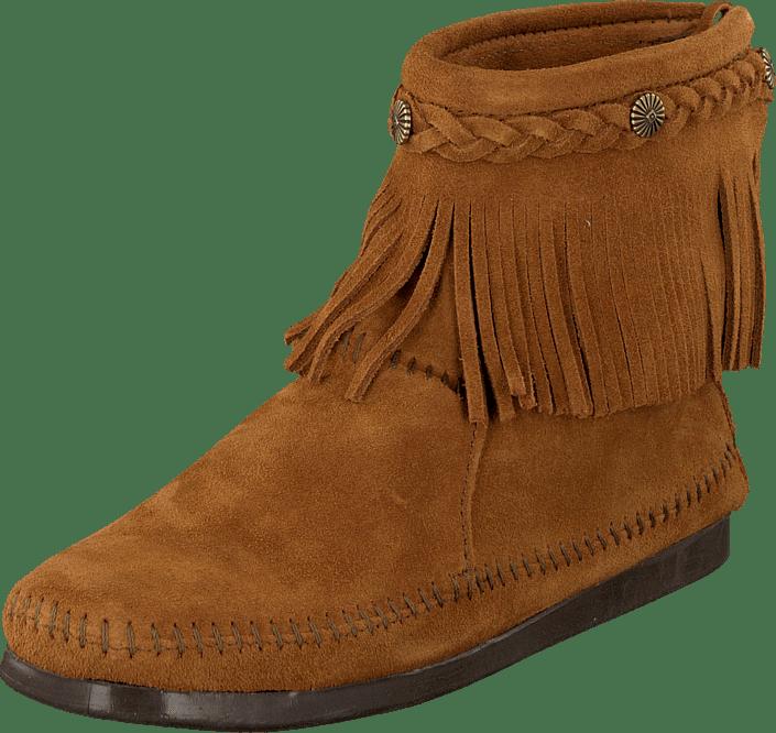 9ea3521f1b0 Köp Minnetonka Hi Top Back Zip Boot bruna Skor Online | FOOTWAY.se