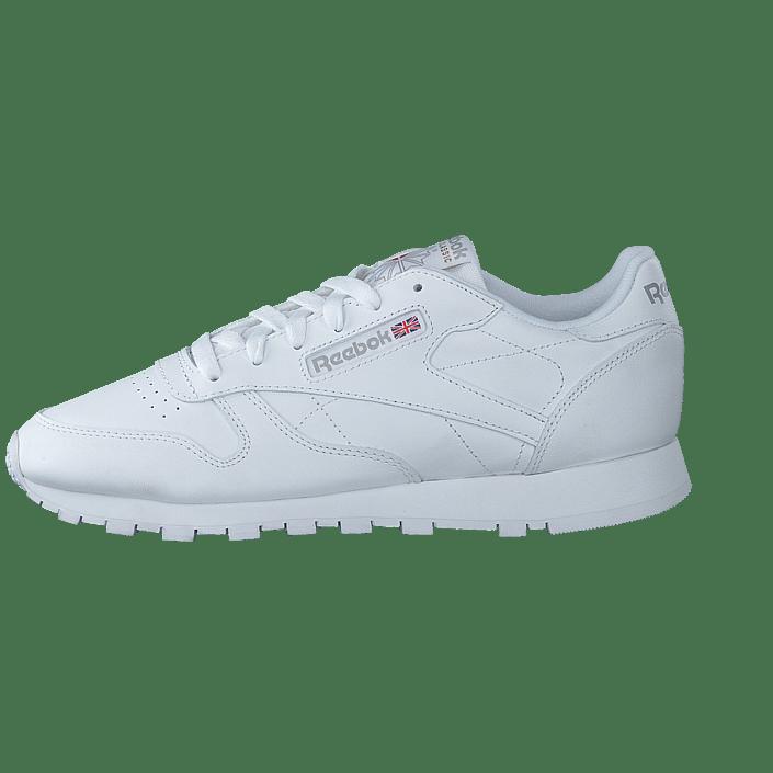 Int 01 11764 Cl Classic Og Sportsko Lthr Køb Hvide Reebok Online white Sko Sneakers OqRfI