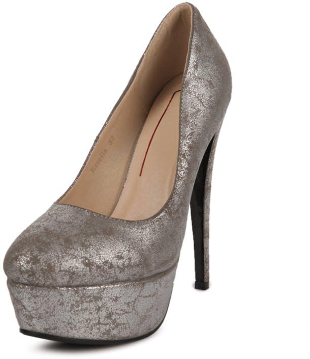 9f10eca2593dce Nelly Shoes Estelle graue Schuhe Kaufen Online