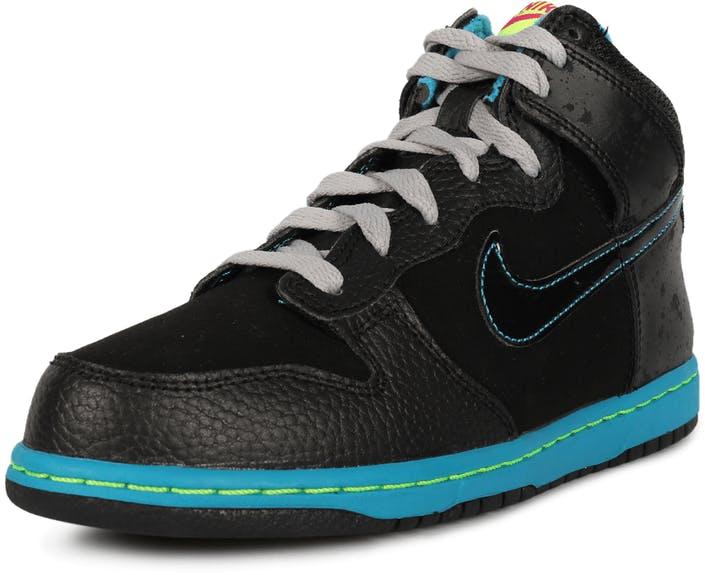 Nike Dunk Hi Basketsko Gutt Blå Svart | 861402TGZES