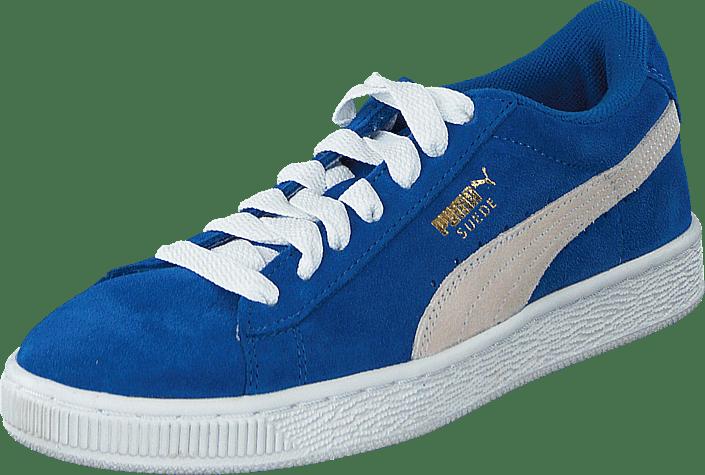 Puma - Suede Jr Snorkel Blue-White