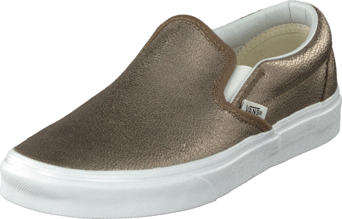 e7ce8f5187 Buy Vans Classic Slip-On (Metallic) Bronze brown Shoes Online ...