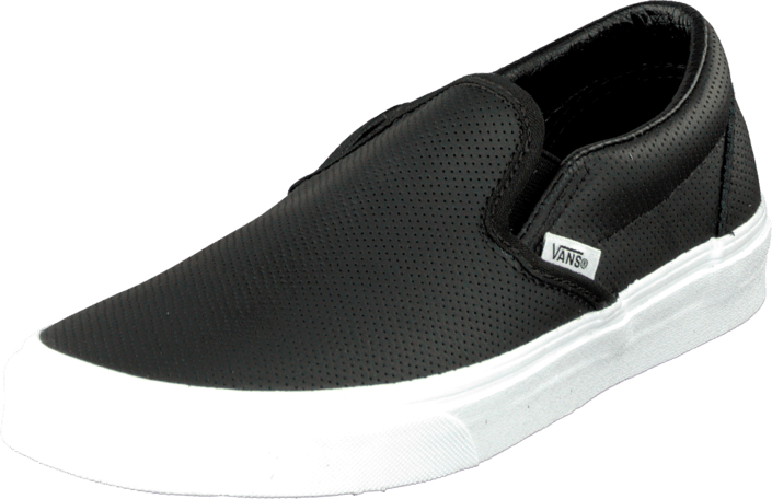 69a0614a78625 Kup Vans Classic Slip-On (Perf Leather) Black czarne Buty Online ...