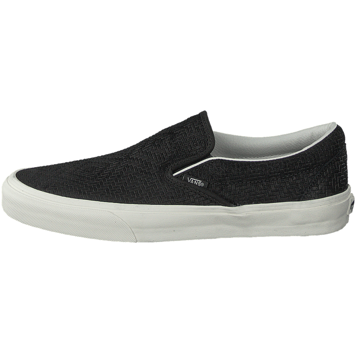 Classic Slip On (Braided Suede) Black