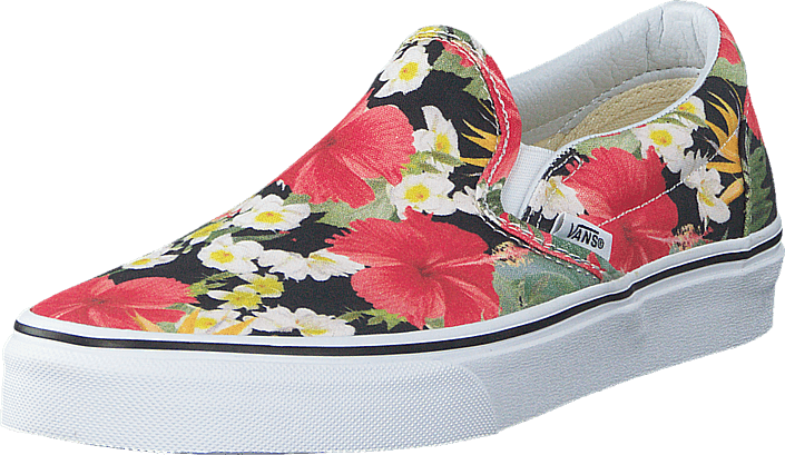 add3b359ee Buy Vans Classic Slip-On (Digi Aloha) Black True White pink Shoes ...