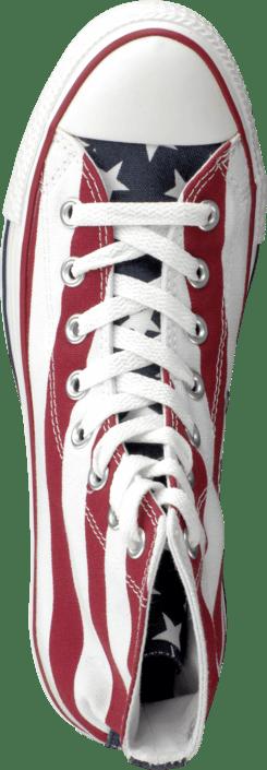 Kjøp Converse All Star Stars & Bars Hi sko Online | FOOTWAY.no