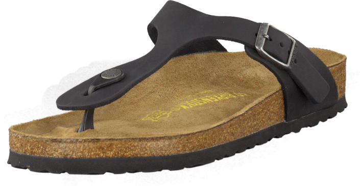 Birkenstock - Gizeh Regular Black Leather