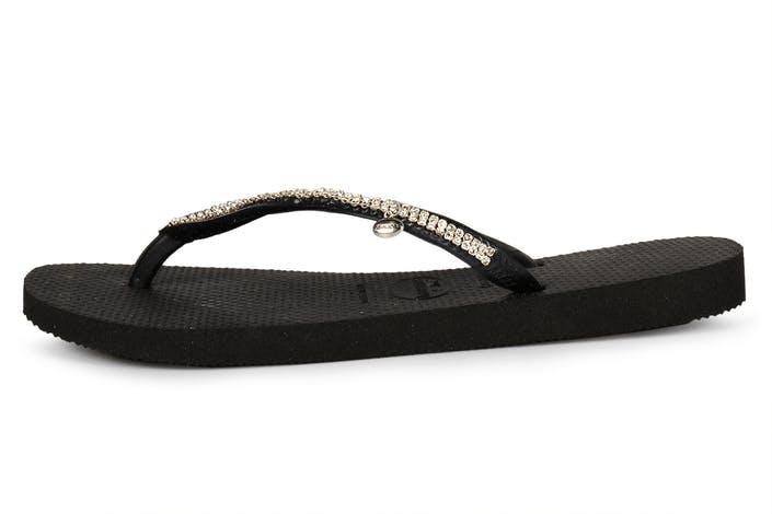 aaa61b0e8b5 Buy Havaianas Crystal Mesh SW II black Shoes Online