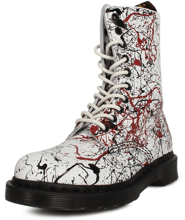 a489852aa1e Acheter Dr Martens 1490 Splatter gris Chaussures Online