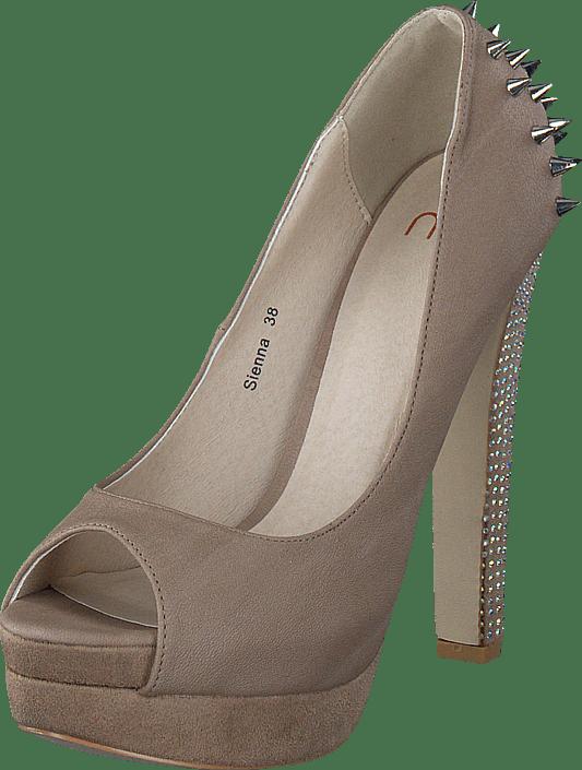 Dam Köp Nelly Shoes Sienna Beiga Skor | screendonor