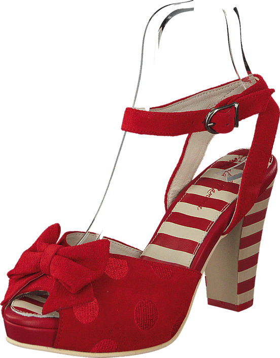 3567aaae564d Buy Lola Ramona Angie P Red Suede red Shoes Online