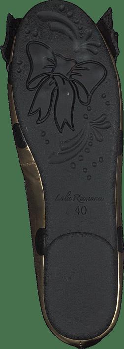 Lola Ramona - Rinna Gold Mirror/black