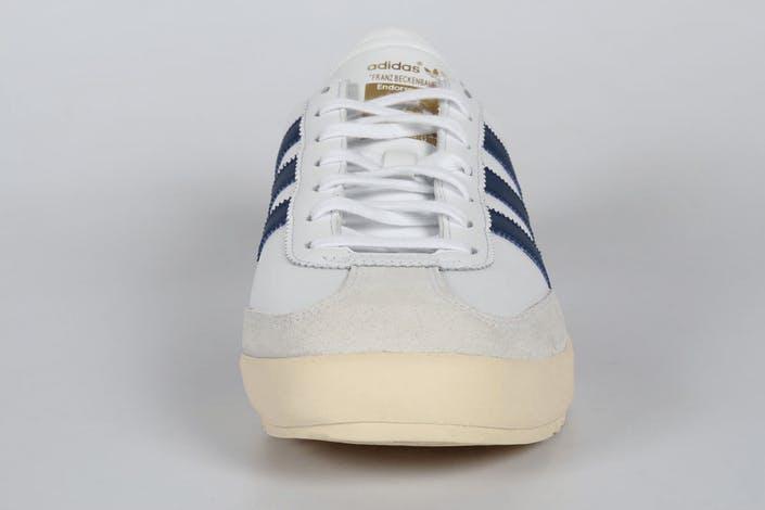 Adidas Beckenbauer Blanc, bleu, beige et gomme Achat
