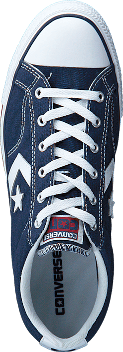 Converse Star Player Ox Navy White Schuhe Kaufen Online