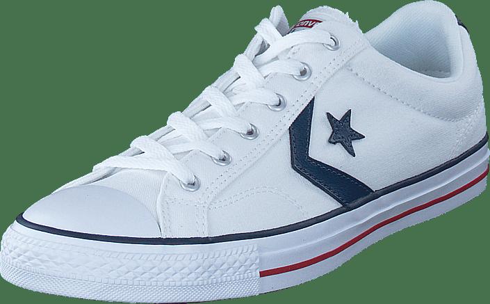 Og Player White Sportsko Ox Køb White Converse Hvide 04 Online 18339 Sneakers Sko Star fwxxqECyIv