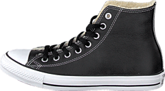 newest 3e9ee 2c415 Converse - All Star Shearling Hi Black White