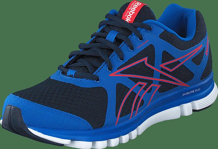 023cfb73eca Buy Reebok Sublite Duo blue Shoes Online