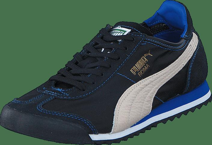 Puma Roma Slim Nylon svarta Skor Online