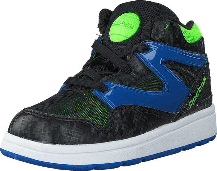fe7f5ff47ea4 Buy Reebok Versa Pump Omni Lite Black Blue Sport Solar Green blue ...