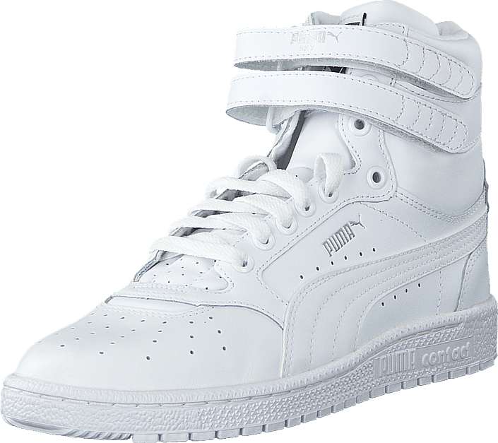 0c6073eb14f4 Buy Puma Sky II Hi White-White white Shoes Online