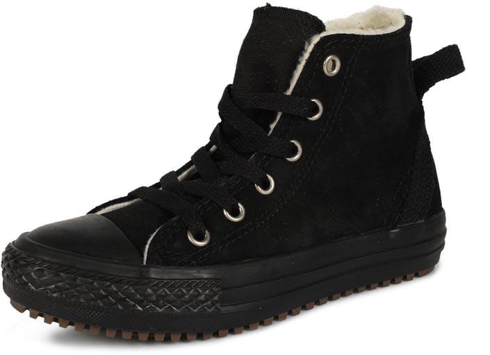 Osta Converse All Star Hollis Leather mustat Kengät Online  d272e0b2ac