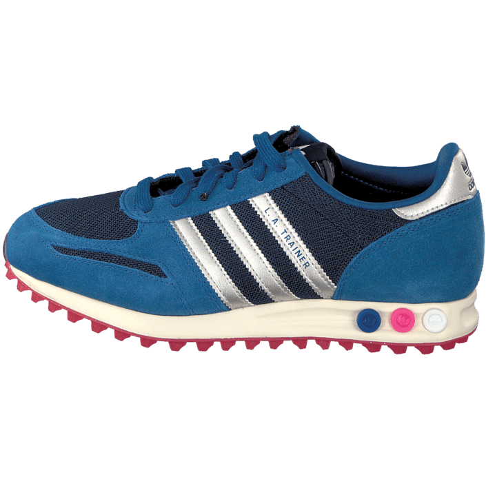 new products 89d7f cde1c ... wholesale kjøp adidas originals la trainer w dark marine blå sko online  a8b6c c9fd8