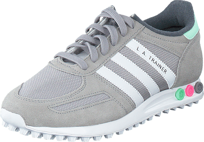 best choice ea045 3d8be adidas Originals - La Trainer W Light GraniteWhiteGreen