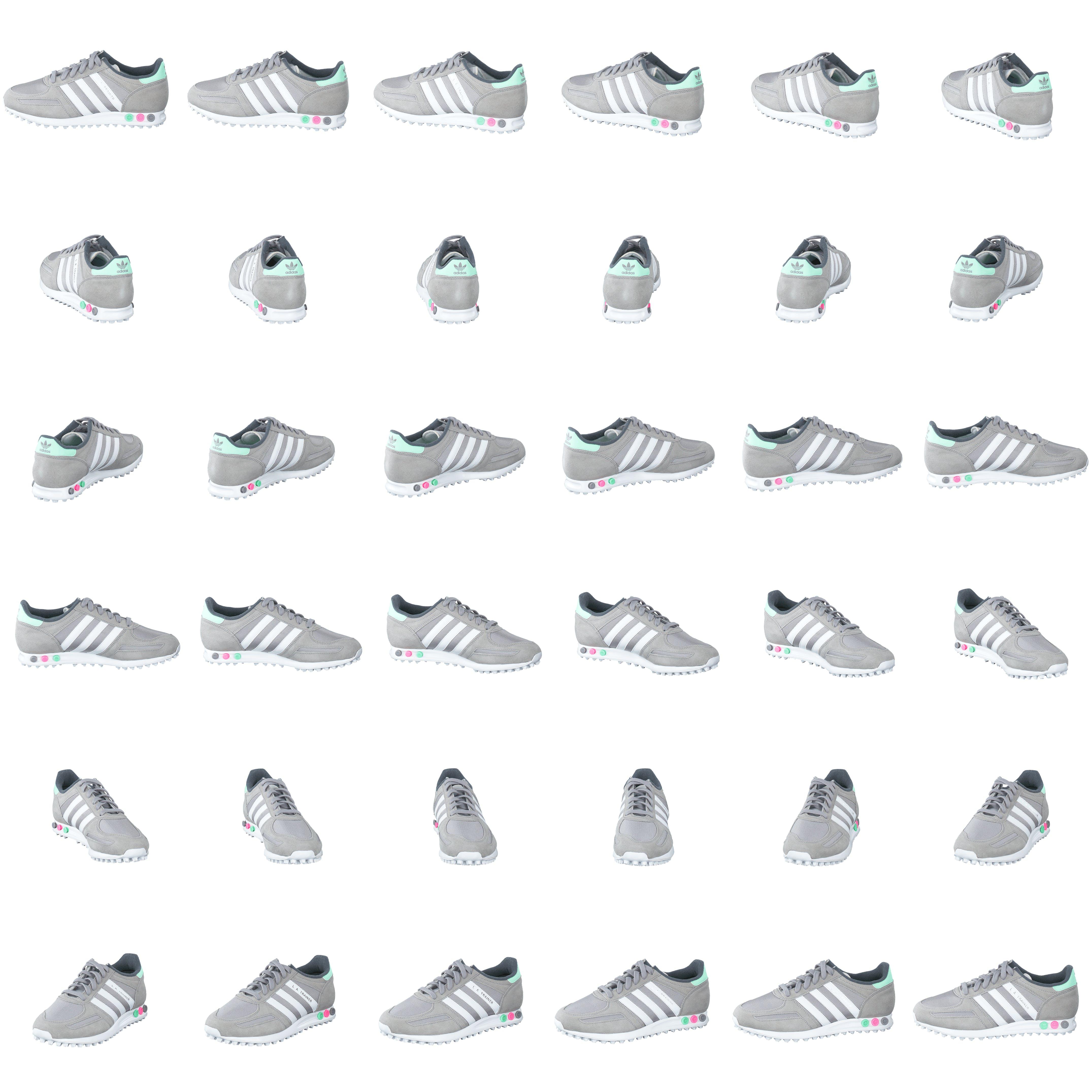 timeless design 533f8 c6510 Buy adidas Originals La Trainer W Light GraniteWhiteGreen White Shoes  Online  FOOTWAY.co.uk