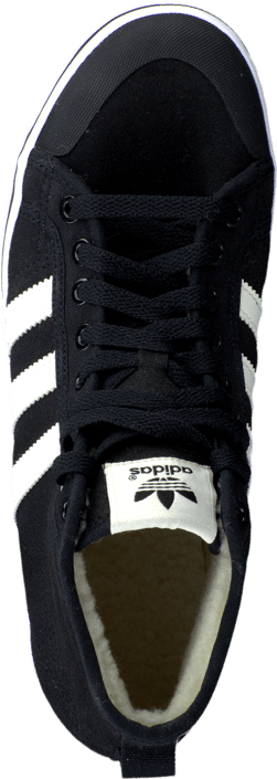 new concept 69365 cf5c8 Buy adidas Originals Honey Stripes Mid W Core BlackChalk WhiteWhite black  Shoes Online  FOOTWAY.co.uk