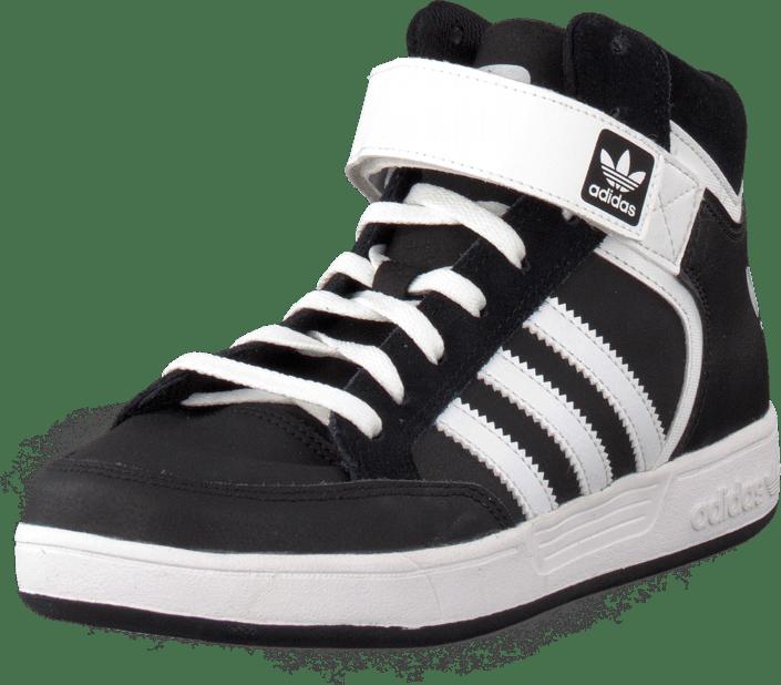 Kjøp adidas Originals Varial Mid J Core BlackWhiteCore