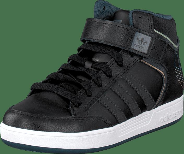 Buy adidas Originals Varial Mid J Core Black Dgh Solid Grey black ... 6ee542bd79757