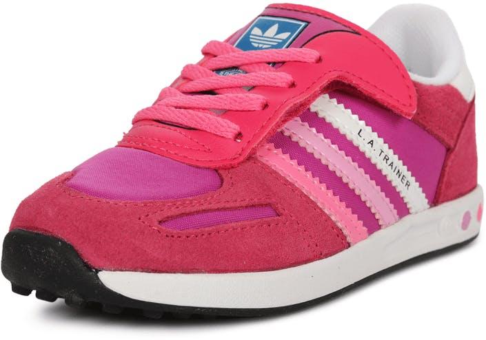 7c535563818db Buy adidas Originals La Trainer CF I pink Shoes Online